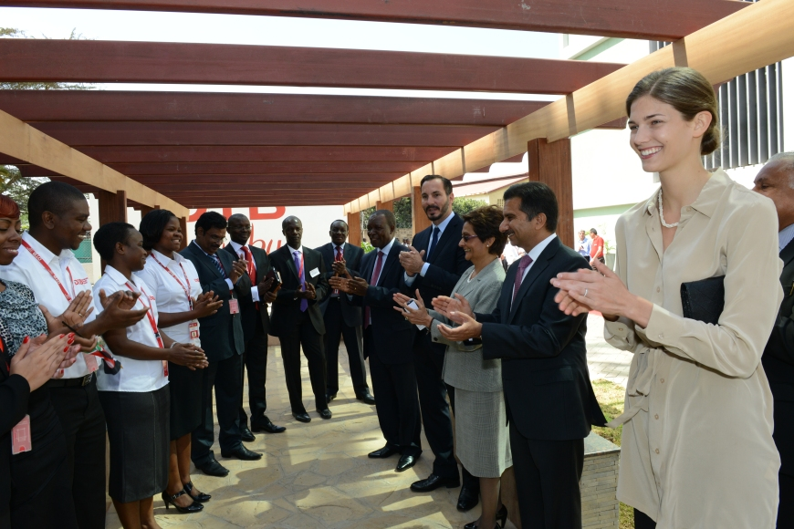 Prince Rahim Aga Khan Opens new Diamond Trust Bank Headquarters, Visits Other Projects