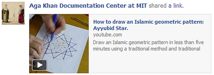 How to draw an Islamic geometric pattern