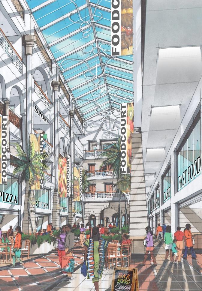Inauguration of newly restored Jubilee Arcade, Mombasa