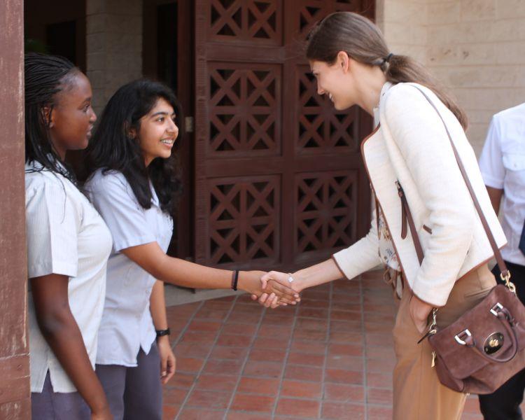 The Ismaili: Prince Rahim and Princess Salwa visit AKDN projects in Kenya