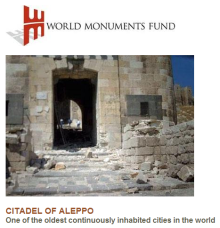 World Monuments Fund: Missile attack damages Citadel of Aleppo's massive gate