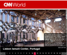 CNN.com Features: Lisbon Ismaili Center, Portugal - Sacred Structures