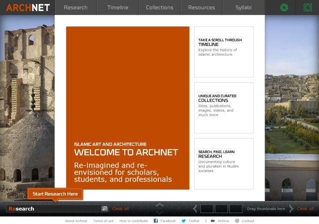 ARCHNET.org: Re-imagined, Re-envisioned