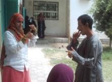 Om Habibeh Foundation: Nurses in Upper Egypt improve care for special needs patients