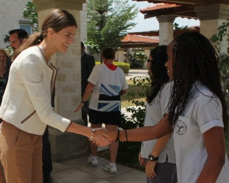 Prince Rahim Aga Khan and Princess Salwa visit the Aga Khan Academy, Mombasa