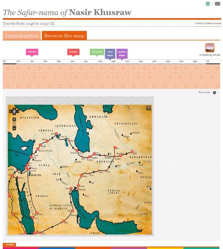 The Interactive Safar-nama of Nasir Khusraw at IIS