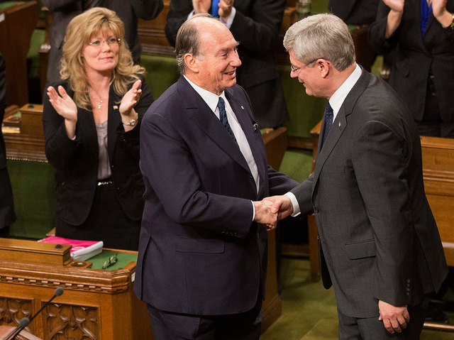 PM Harper Flickr Set: His Highness the Aga Khan delivers an address to Parliament