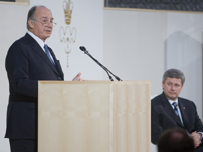 Columnist Ladha: Why Aga Khan strengthens ties with Canada