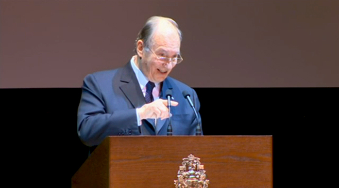 VIDEO/AUDIO: His Highness the Aga Khan's address at Massey Hall (Toronto, Canada)
