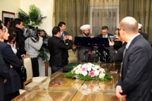 Aga Khan Network honors National Reconciliation Minister and Grand Mufti - Syria