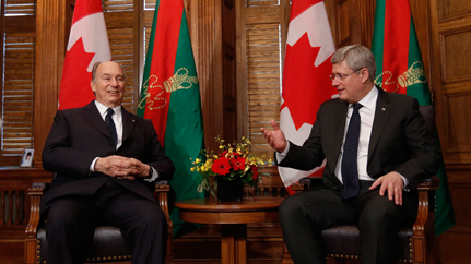 Sun News: Harper rolls out red carpet for Islamic leader