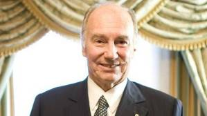 Aga Khan was awarded the Gold Medal of the Royal Architectural Institute of Canada (Peter Power/The Globe and Mail)