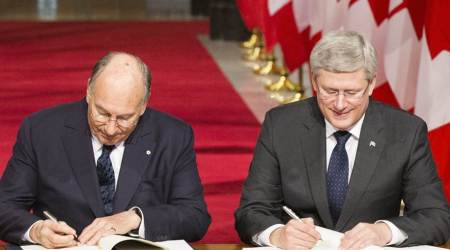 PM and the Aga Khan Sign Protocol of Understanding on the Creation of a Strategic Partnership