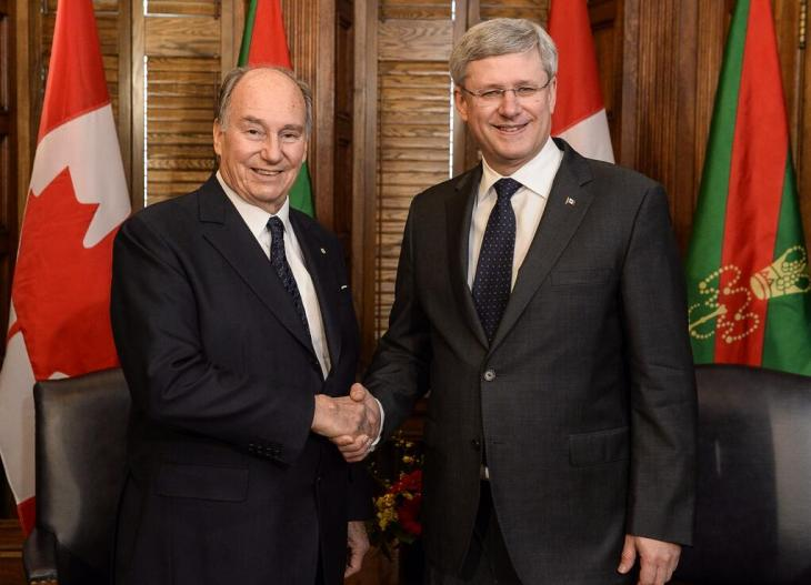 9:35 AM - 27 Feb 2014: PM Stephen Harper Meeting with His Highness the Aga Khan