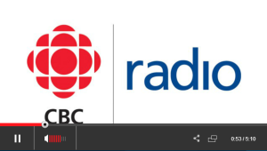 Farees Nathoo on CBC Radio