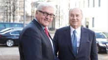 German Foreign Minister welcomes His Highness the Aga Khan