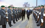 Guard of Honour for His Highness the Aga Khan