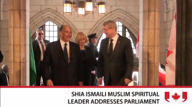 Video: The Aga Khan jokes about joining Canada's hockey team