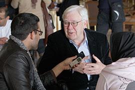 IIS Scholar Prof. Eric Ormsby receives World Book Award of the Islamic Republic of Iran