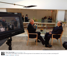 Aga Khan One-on-one with Peter Mansbridge