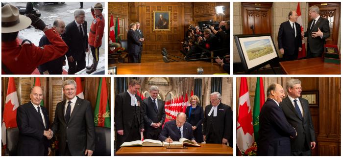 PM Stephen Harper Photostream: Aga Khan Visit