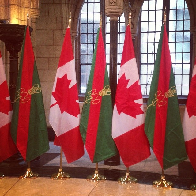 Senator Doug Black's Photographs from the Parliament: Preparing for the arrival of His Highness the Aga Khan
