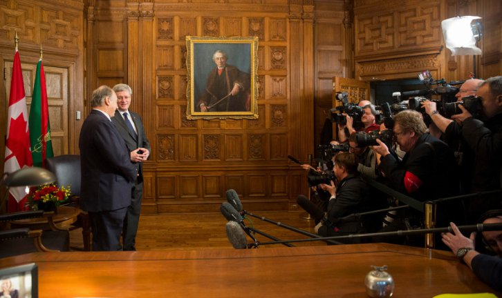 A Collection of Photos & Speech Excerpts: His Highness the Aga Khan's Historic Visit to the Parliament of Canada