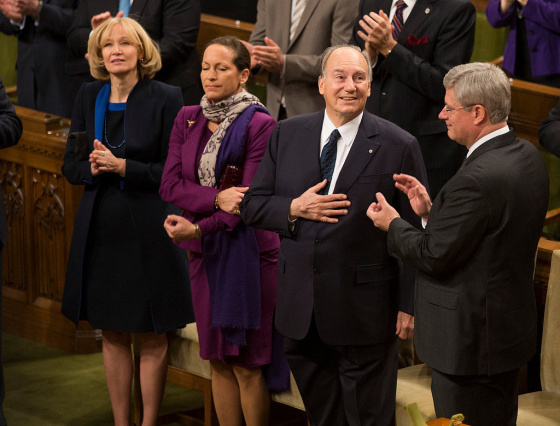 Selected Excerpts from the Live English Translation of Remarks Made in French by His Highness the Aga Khan at the Parliament of Canada