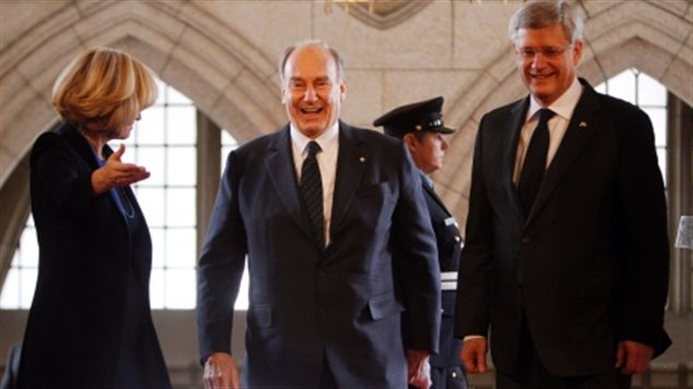 Radio Canada International: The Aga Khan visits Canada