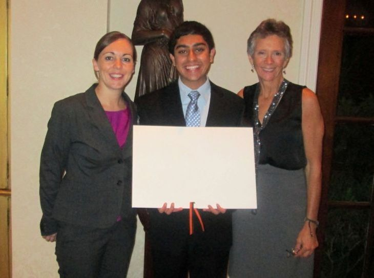 FBISD Student, Karim Farishta, wins 2013 Princeton Prize in Race Relations