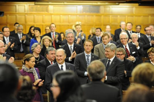 The Ismaili: Canadian Ismailis rejoice at MawlanaHazarImam's landmark address to Parliament