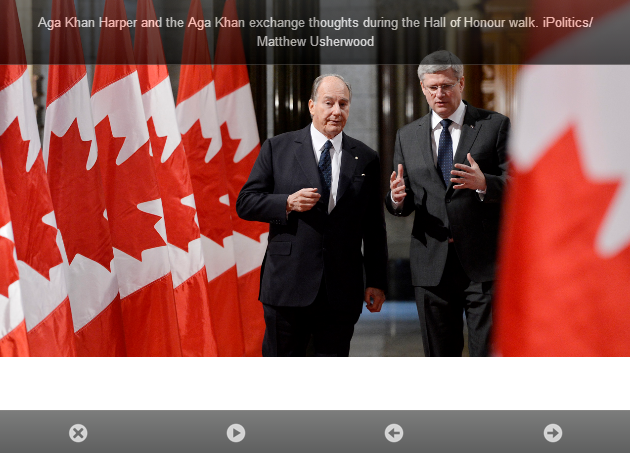 iPolitics Gallery: The Aga Khan comes to the Hill