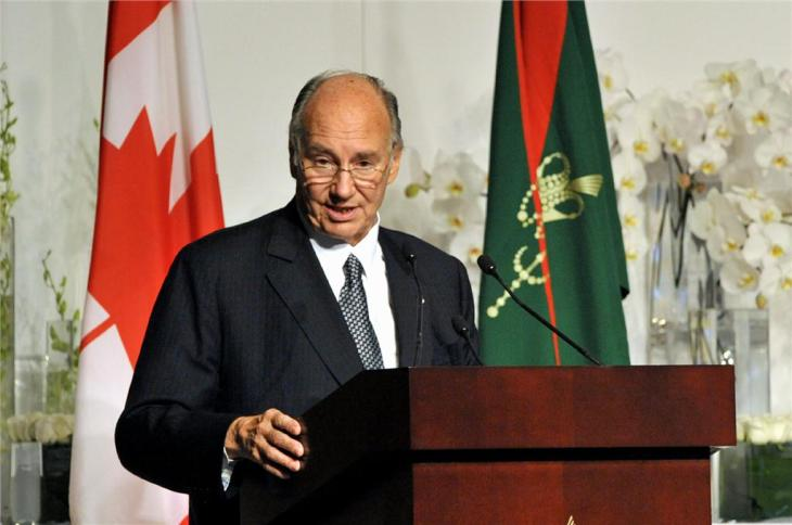 PARTNERS IN PLURALISM: WHY THE AGA KHAN LOVES CANADA