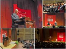 AKDN Photos: His Highness the Aga Khan delivers the 88th Ogden Memorial Lecture in International Affairs at Brown University