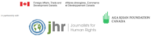 Aga Khan Foundation Canada and Journalists for Human Rights presents: Journalism as a Tool for Development