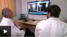 BBC: Working with Aga Khan University, Afghan doctors treat rural patients remotely over the web