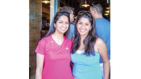 Alia and Salina Dharamsi