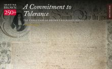Brown University: A Commitment to Tolerance - The Evolution of Brown's Religious Roots