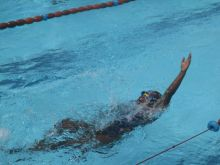 Aga Khan School wins fifth junior swimming championship