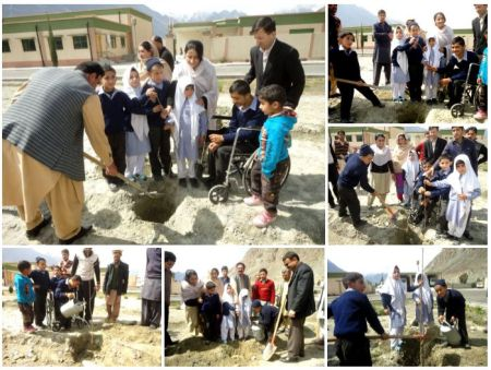 Gilgit Serena Hotel celebrates Spring Tree Plantation for Carbon Emission Awareness