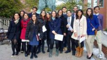 Group of Current and Former Ismaili Students at Brown University, USA