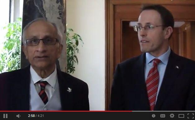 John Weston, MP, with Canadian Ismaili Leadership