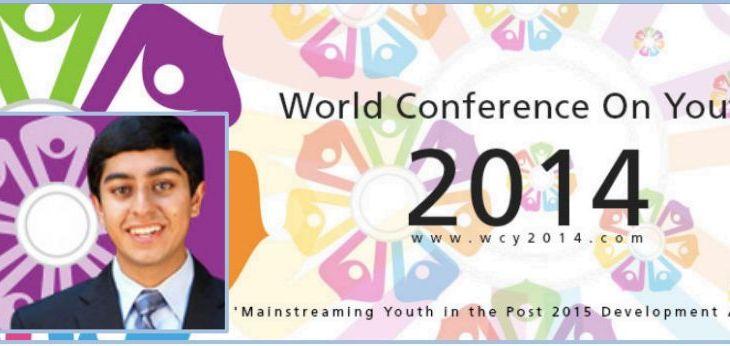 Vote for Karim Farishta: World Conference on Youth