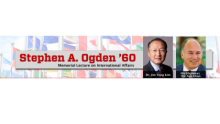 His Highness the Aga Khan's Stephen A. Ogden Memorial Lecture on International Affairs