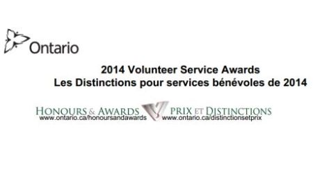 2014 Volunteer Service Awards: Celebrating the Contributions of Ontario's Volunteers