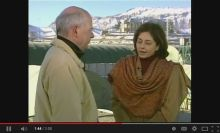 Roshan Thomas speaks to Peter Mansbridge in 2004