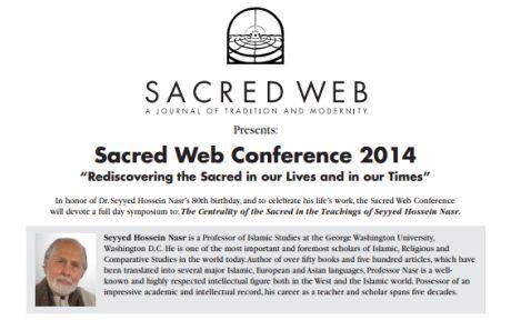 Sacred Web Conference 2014