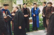 Either by fluke or providence, one photo of His Highness the Aga Khan which I took in 1996 at Brown Univeristy, Providence, will always be my greatest treasure!