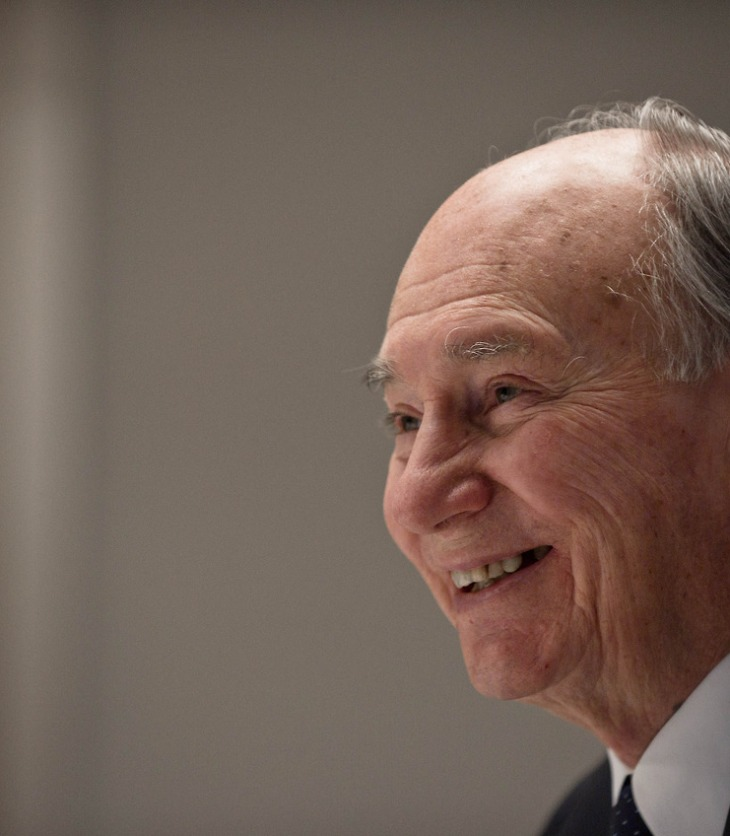 Globe & Mail Photoshoot of His Highness the Aga Khan's Interview, by Galit Rodan