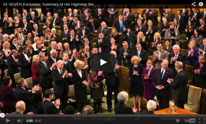 Video Summary of His Highness the Aga Khan's visit to Canada